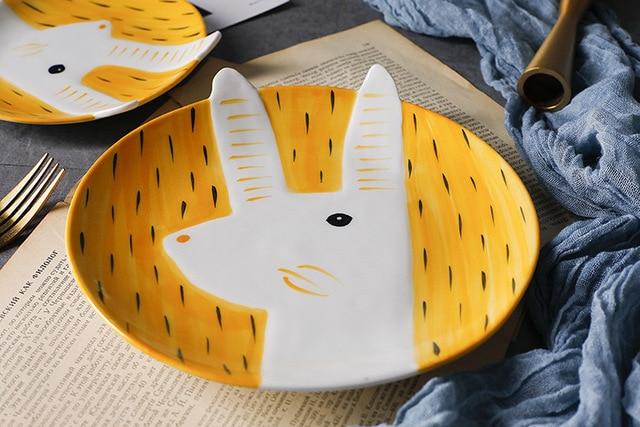 HTB1H5vYE25TBuNjSspmq6yDRVXaY.jpg 640x640 - tabletop-and-bar, dinnerware - Kawaii Animal Plates