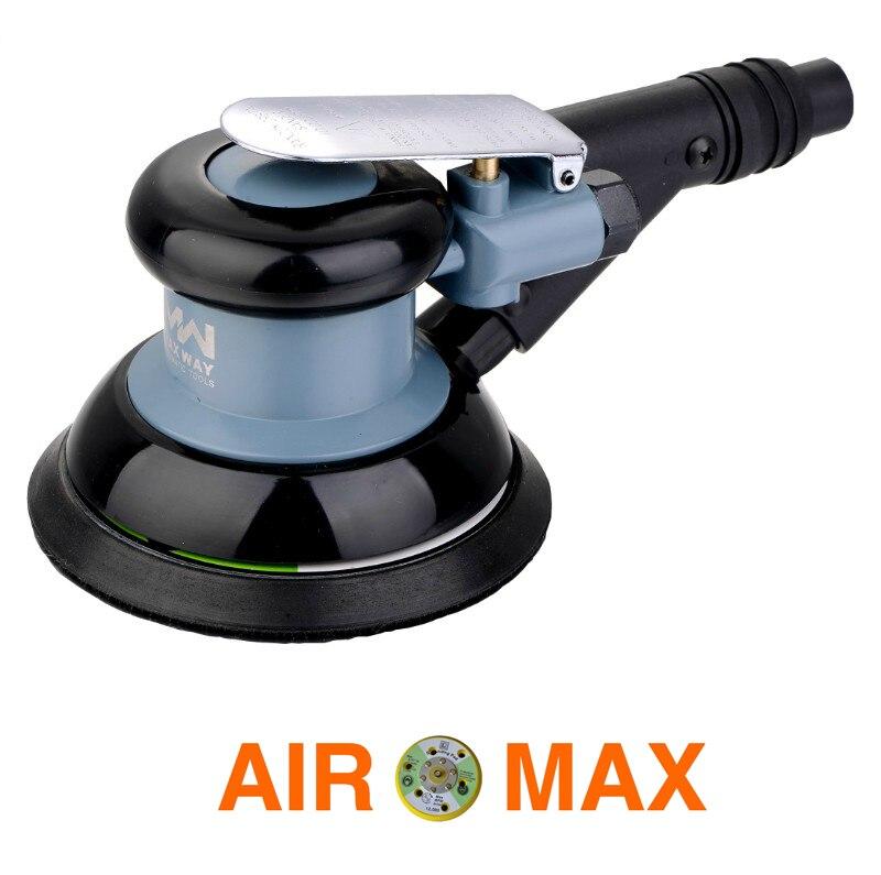 High Quality 5 Air Orbital Sander Self Vacuuming Polisher Tool not include the custom tax
