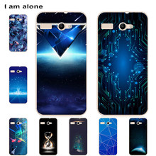I am alone Bags For Micromax Bolt Q380 Q324 Q334 Q338 Q346 Q383 Q392 Q394 Q4202 Q4251 AQ5001 D303 Case Shipping Free(China)