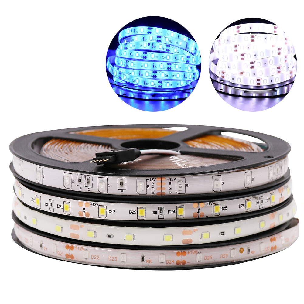 SMD RGB LED Strip LED Light 5m 10m 5050 2835 flexible LEDs Lighting 12V Tape Diode Ribbon Waterproof DC 12V