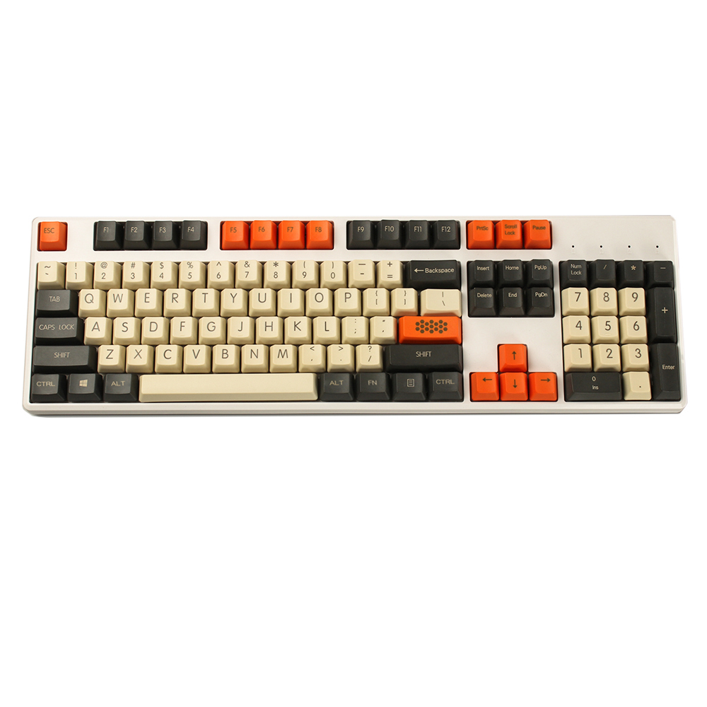 Image 3 - YMDK Carbon 61 87 104 Top Print Blank Keyset Thick PBT OEM Profile Keycaps Suitable For MX Mechanical KeyboardKeyboards   - AliExpress