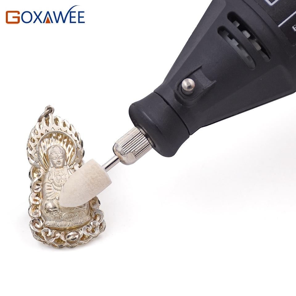 GOXAWEE 10 pezzi Dremel Accessori Lucidatura Utensili per lucidatura - Utensili abrasivi - Fotografia 6