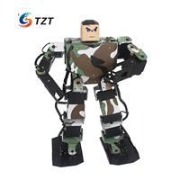 Soldier King 16DOF Smart Humanoid Robot Frame Kits Contest Dance Biped Robotics for DIY Unassembled