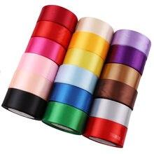 38mm largura pano cetim fitas festa de casamento decoração presente artesanato costura tecido fita de pano artesanal diy 1/2/3.8cm