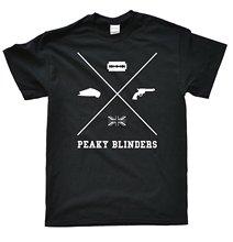 2019 Nieuwe Zomer Casual T-shirt Mannen Blinders-cross