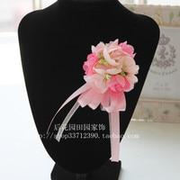 Korean wedding corsage, bride and groom, best man bridesmaid,  guest host, corsage