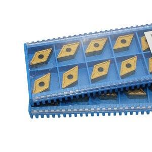 Image 2 - 10 pcs DNMG110404 קרביד מוסיף DNMG110408 CNC מחרטה מפנה באיכות גבוהה להב כלי חותך צלחת עבור מתכת פלדה