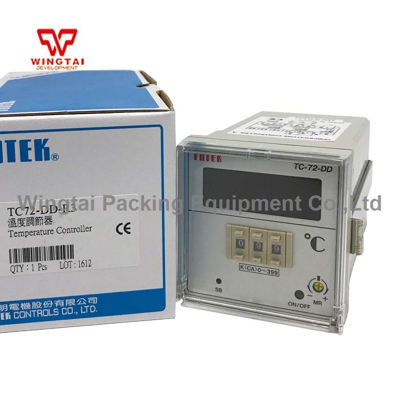 Made in Taiwan Fotek TC72-DD-R3 Digital Temperature Controllers made in taiwan fotek mr 60n mr 60x photo sensor 10 30dvc