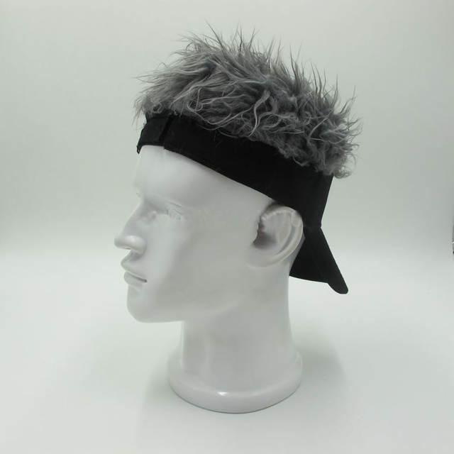 ba9e2bcd545 placeholder Adjustable Baseball Hat Man s Women s Toupee Wig Funny Hair  Loss Cool Golf Caps Novelty Baseball Cap
