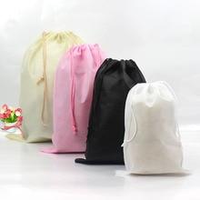 Водонепроницаемая сумка для хранения обуви с карманом, сумка для хранения, Нетканая ткань, сумка на шнурке, сумка для туалетных принадлежностей, Новинка