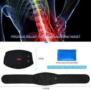 Image 5 - Yosoo cintura cinto de aquecimento inferior apoio para as costas cinta massagem terapia apoio da cintura para alívio da dor muscular volta cintura cuidados lombares