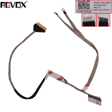 New Original Laptop LCD Cable for HP 430 G2 With Touch PN: DC020021400 Replacement Notebook LCD LVDS Cable new original lcd led video flex for hp probook 430 g2 zpm30 series pn dc02001ys00 repair notebook lcd lvds cable
