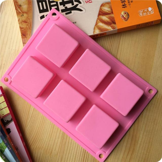 Square Cake Mold Making Tool Soap Mould