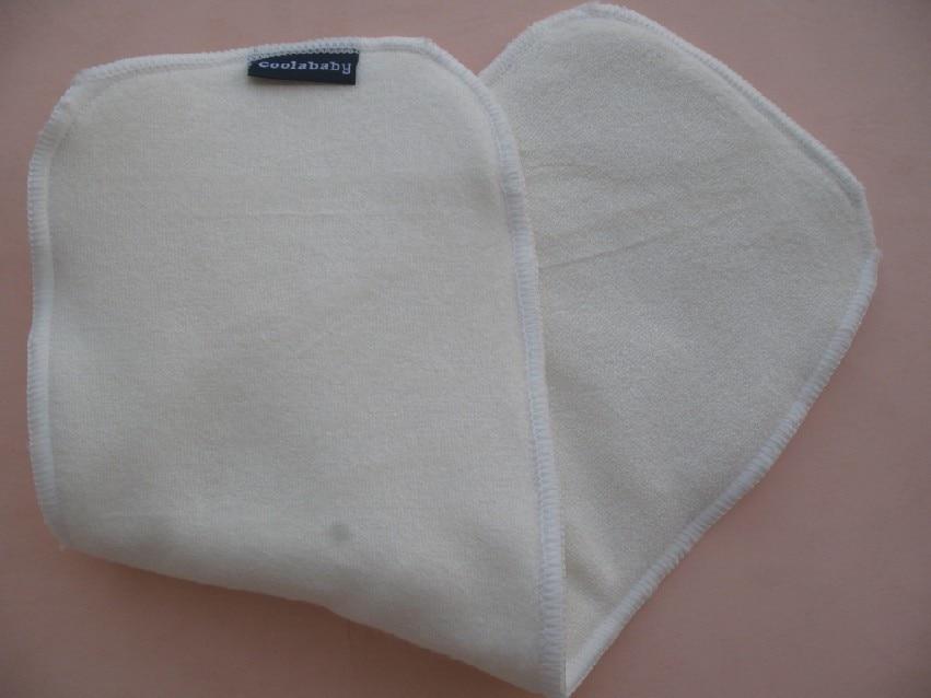 5 шт./партия-Coolababy-Детские Вставки для тканевых подгузников/Детские вставки из микрофибры Бамбуковое волокно/Детские Изменение колодок и обложек