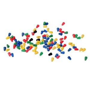 Image 5 - 100 pièces en caoutchouc souple tampon choc perles de pêche pour hélicoptère plates formes protection émerillons pour appât de pêche leurre