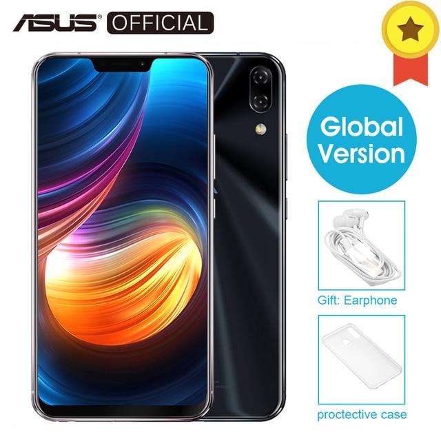 "ASUS Zenfone 5 ZE620KL Глобальный Версия 6,2 ""19:9 FHD + 2246*1080 Экран Android 8,0 телефона Qualcomm Snapdragon 636 4 ГБ 64 ГБ NFC"