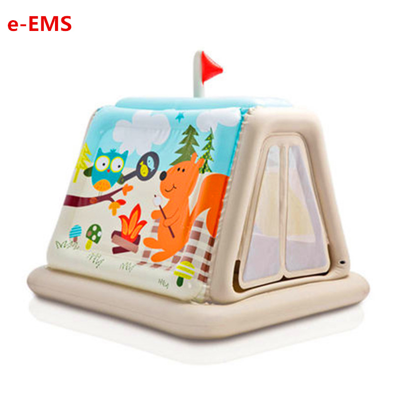 Children Inflatable Castle Toy Home Magic Castle Male Girl Play House Toy Children Home Use Tent G2015Children Inflatable Castle Toy Home Magic Castle Male Girl Play House Toy Children Home Use Tent G2015