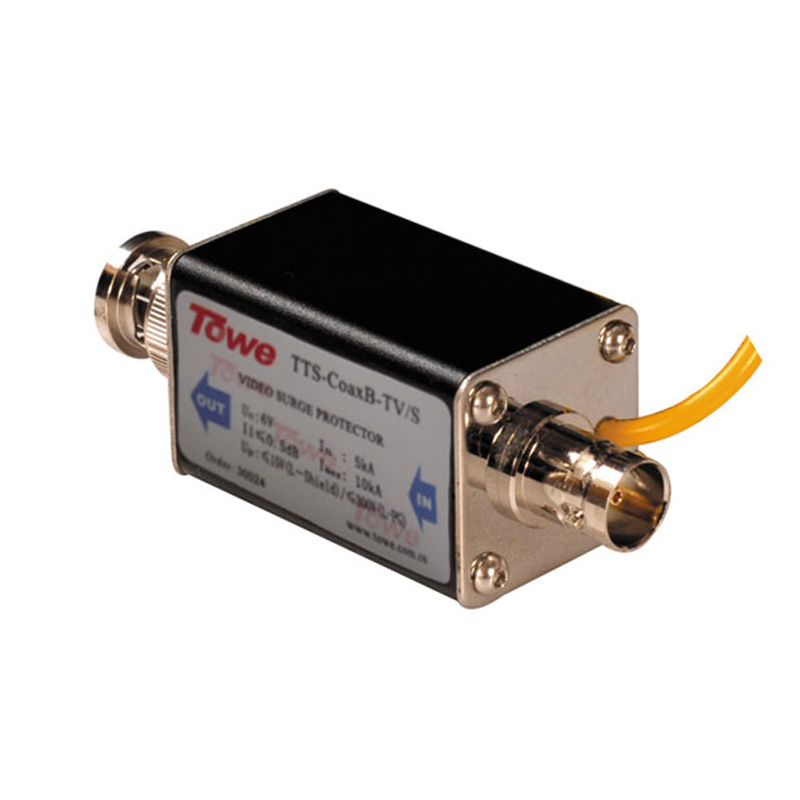 TOWE AP-CoaxB-TV/S BNC Connector F / M, The Video Signal Protection Surge Protector