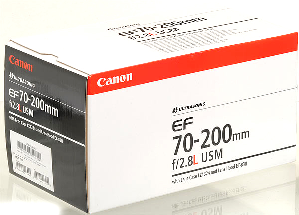 Canon EF 70 200mm f/2.8L F2.8 L USM Telephoto Zoom Lens