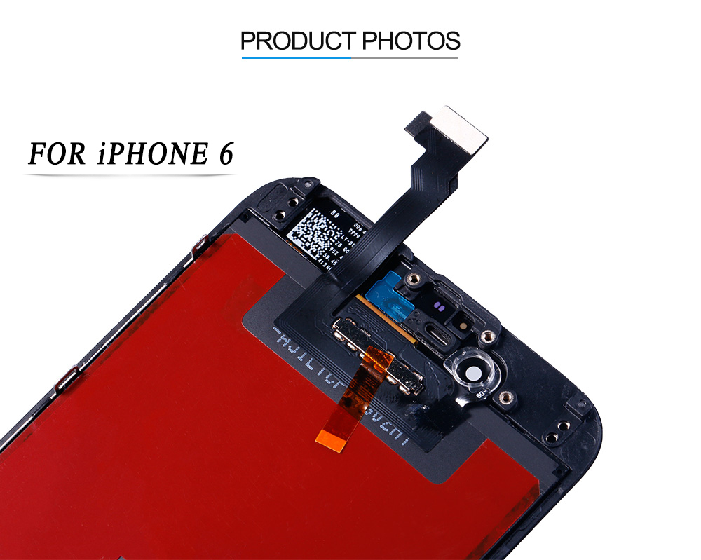 AAA+++ Screen on For iPhone 5 5c 6 LCD Touch Screen Assembly Digitizer Replacement Module for iPhone 6s 5s display No Dead Pixel