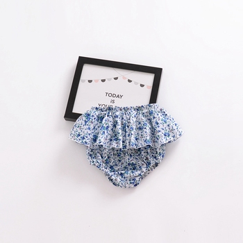 Summer Fashion baby girls boys shorts Newborn Baby Fold bloomers Girls Pattern Triangle Shorts toddler Trousers PP Pants Clothes 1