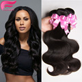 Cheap Price Indian Body Wave 7 A Indian Virgin Hair Body Wave 3 pieces/lot Unprocessed Indian Human Hair Weaves Bundles Deals