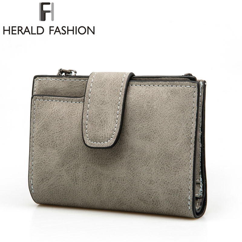 Herald Fashion Lady Letter Wallet Zippers