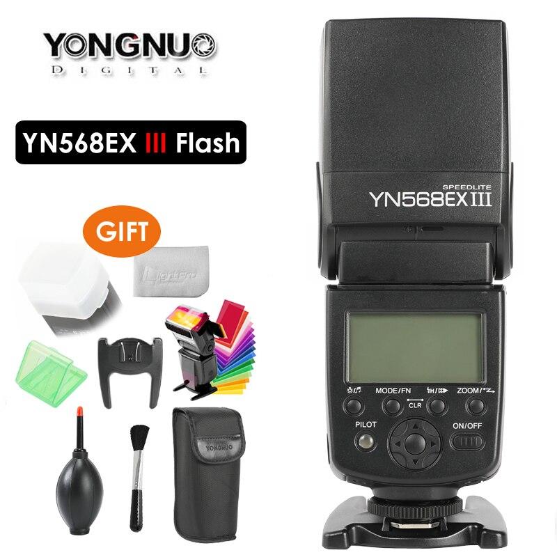 Беспроводная вспышка YONGNUO YN568EX III YN-568EX III TTL для Canon Nikon DSLR, совместимая YN600EX-RT II YN568EXII