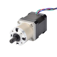 Nema 17 Geared Stepper Motor Bipolar L=48mm w/ Gear Ratio 14:1 3Nm(425oz.in) planetary reduction gearbox Nema 17 Gear