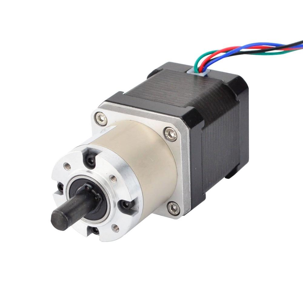 все цены на Nema 17 Geared Stepper Motor Bipolar L=48mm w/ Gear Ratio 14:1 3Nm(425oz.in) planetary reduction gearbox Nema 17 Gear