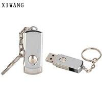 flash drive usb flash drive metal Key chain usb 2.0 pen drive 4gb 8gb 16gb 32gb 64gb Silver bracelet usb flash 128GB memory stick Free logo (1)