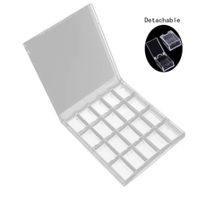 цены 20 Grids Acrylic Nail Art Storage Case DIY Removable Crystal Beads Jewelry Organize Box Hot Sale