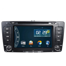 Free Ship Car DVD Player GPS Navigation System for Skoda Octavia Laura 2004 2005 2006 2007 2008 2009 2010 2011 2012 2013 RDS TV