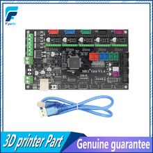Latest 3D printer MKS Gen V1.4 control board Mega 2560 R3 motherboard RepRap Ramps1.4 compatible, with USB For 3d Printer