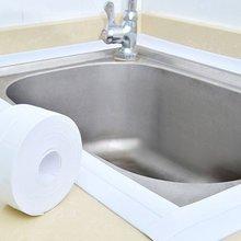 Самоклеющиеся кухня водонепроницаемый плесени доказательство клейкая лента ванная комната туалет стены угловая линия раковина Уплотнительная наклейка