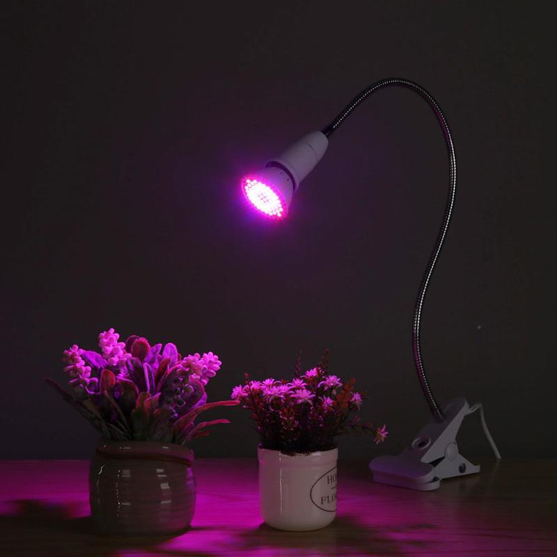 LED Grow Lights Plant Grow LED Light Clip Lamp Full Spectrum Plant Lighting Fitolampy For Greenhouse Hydroponic Seedlings Flower