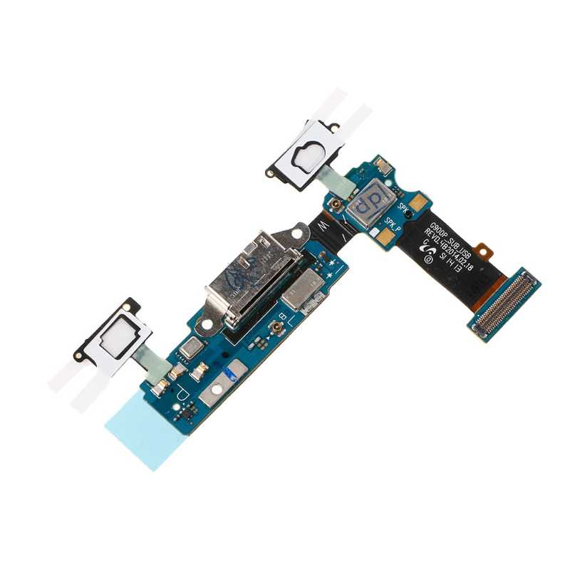 USB Charging Port Connector Flex Cable Repair Parts For Samsung Galaxy S5 G900P