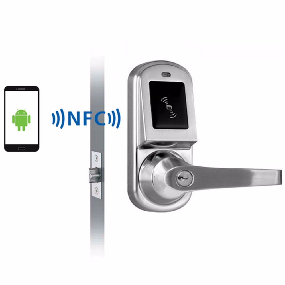 Android Smartphone Nfc Smart Door Lock For Hotel Office Or