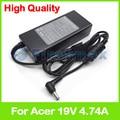 19 В 4.74A ноутбук зарядное устройство ac адаптер питания для Acer ADP-90SB BB AP.09001.005 AP.09001.010 AP. A1003.002 AP. A1003.003 AP.09001.013