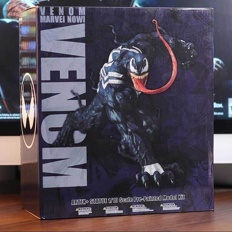 Marvel Мстители Удивительный Человек-паук фигура Венома игрушка ARTFX 1/10 масштаб статуя предварительно окрашенная модель комплект Brinquedos Фигурки подарок