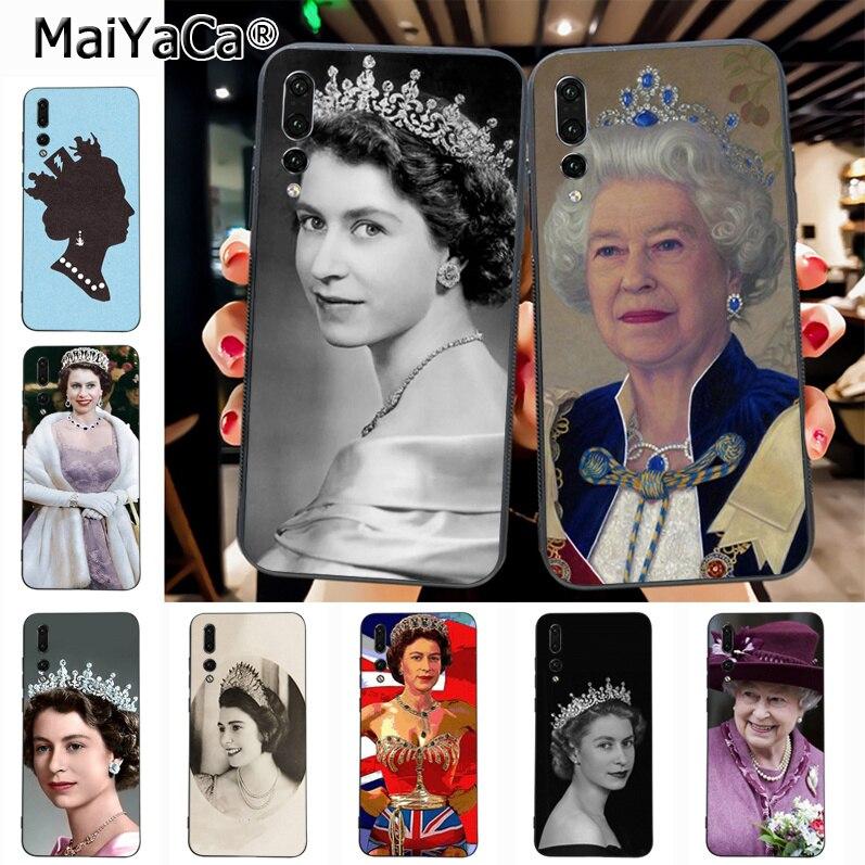 Maiyaca The Queen Elizabeth II Princess Hot Sale Fashion Luxury phone Case for Huawei P20 P20 pro Mate10 P10 Plus Honor9 cass(China)