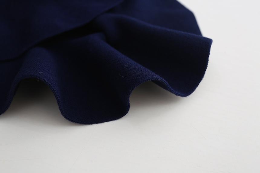 Wool knit solid short skirt girls half skirt 2017 new Korean children\'s clothing children\'s skirt (10)