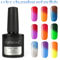 12Pcs/lot Temperature Color Changing UV Nail Gel Polish Long Lasting 8ml UV Gel Chameleon Nail Varnish Total 60 Colors