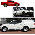 free shipping 2pc Barbarian Warrior tribal Replacement for side  decal mitsubishi l200 triton pickup