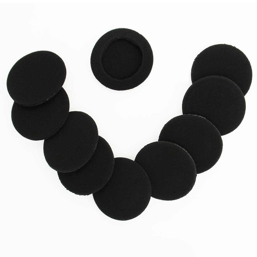 35 มม. - 65 มม. ไร้สายบลูทูธหูฟังหูฟังเปลี่ยนโฟม Ear Pad non - slip ชุดหูฟังฟองน้ำสำหรับหูฟัง