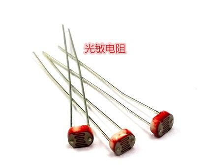 20Pcs Photo Light Sensitive Resistor Photoresistor 5516 GL5516 NEW