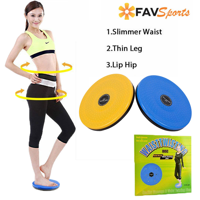 Fitness Twist Waist Disc Balance Board Physical Massage Pilates Body Building Twister Home Gym discos deslizamiento