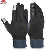 Vbiger Открытый Бег походные перчатки Tounch экран износостойкие Нескользящие перчатки велосипедные спортивные перчатки варежки для мужчин жен...
