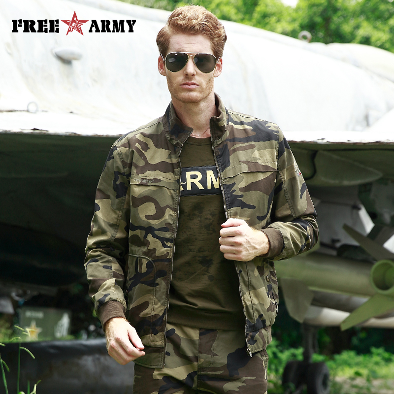 Mens Pilot Jackets New Camouflage Jacket Coat Men Brand Clothing Fashion Slim Outerwear Male Top Quality Stretch Military Coat