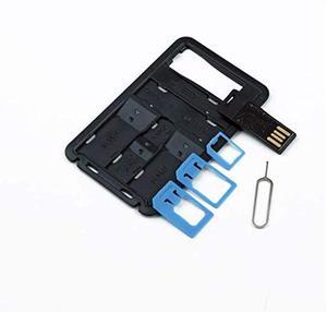 Image 2 - ALL IN ONEขนาดบัตรเครดิตSlim SIM Adapter Kit with TF Card Reader & SIM Cardถาดใส่ถาด,ผู้ถือซิมการ์ด
